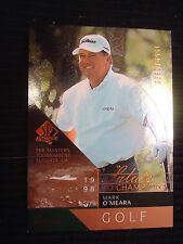 Mark O'Meara 2003 SP Authentic Salute to Champions Card #93 Serial #/1998