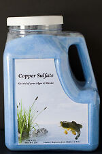COPPER SULFATE-13  POUNDS- GET RID OF ALGAE AND WEEDS