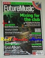 FUTURE MUSIC Magazine SEALED 206/ 2008 + dvd Mixing For The Club Erol Alkan