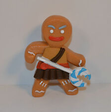 "RARE FOREIGN 2010 Battle Gingy 3.75"" Action Figure McDonald's Shrek 4"