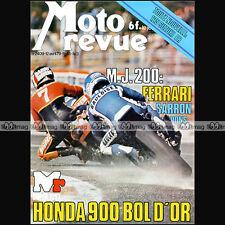 MOTO REVUE N°2409 HONDA CB 900 F BOL D'OR, SUZUKI TS 125 ER, LAVERDA 1200 1979