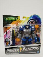 "Power Rangers Beast Morphers - Smash Beastbot - Hasbro Action Figure 6"" Toy Blue"