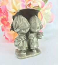 Betsey Clark Pewter Friendship is for Sharing Figurine Hallmark Little Gallery