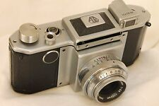 early Pentax Asahiflex IIA transitional model w/ Takumar 50mm f3,5 for parts