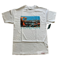 Diamond Supply Co. London Life Tee T-Shirt White Size Medium Men's NWT