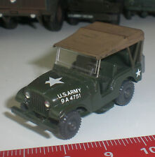 042 SPECIAL U.S.ARMY JEEP MILITAIRE WIKING MODELISME ECHELLE 1:87 HO OCCASION