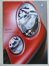 VW POLO 16v FSI TDI listino prezzi 2003-prospetto brochure 04.2002
