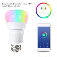 WiFi Bulb RGB Smart Light 15W Remote Mobile Phone Control Smart Z68S E27 B22 E14