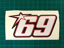 Nicky Hayden 69 decal sticker Repsol CBR Honda Yamaha Suzuki Kawasaki Ducati