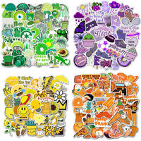 50Pcs Cartoon Laptop Luggage Skateboard Stickers Crafts DIY Graffiti Decals Gift