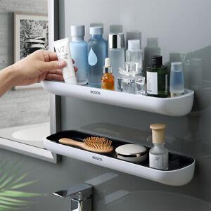 Punch-free Bathroom Organizer Shelf Shampoo Shower Shelf Kitchen Towel Holder ON