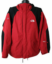 The North Face GoreTex XCR Summit Series Men's Parka Jacket Hoodie Red Black XL