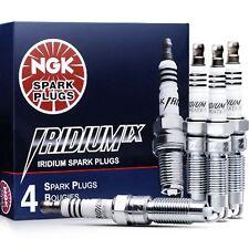 4 - NGK 3764 / BKR6EIX-11 IRIDIUM IX Resistor Performance Power Made in Japan
