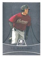 2010 Bowman Platinum Prospects #PP23 J.D. Martinez Rookie Astros/ Red Sox