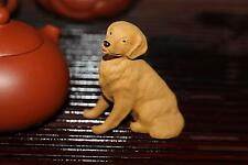chinese yixing zisha tea pet golden retriever decoration duan clay puppy dog