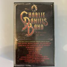 Charlie Daniels A Decade of Hits (Cassette)