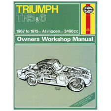 HAYNES TRIUMPH TR5 TR6 WORKSHOP MANUAL MGL6216X