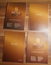 Manuale d'uso Peaq ppa200-b/wd scheda di garanzia istruzioni di sicurezza (b3)