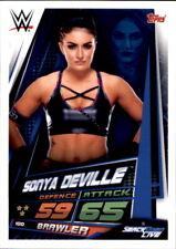 WWE Slam Attax 12 Universe Karte 100 - Sonya Seville - Smackdown Life
