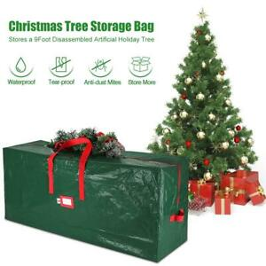 "Christmas Tree Storage Bag Box Heavy Duty Artificial Bag 64x15x30"" with Handle"
