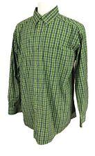 Ariat Pro Series Men's Shirt Green Check Size XL