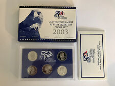 2003 US Mint 50 State Quarters with Original Box/COA!