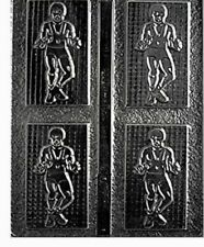 2 chocolate candy molds - Sports wrestler - CybrTrayd S015 - NIP