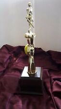"Softball 16"" tall, Team Travel Trophy Color Sport Riser, Free Engraving"