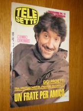 TELESETTE 1994/3=GIGI PROIETTI=SONIA GREY=ENRICO DEAGLIO=OSCAR RADIO=JOVANOTTI=