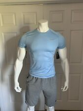 Nike Running Dri - Fit (Mens Size Small) Light Blue