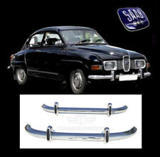 Saab 96 Longnose brand new stainless steel bumpers