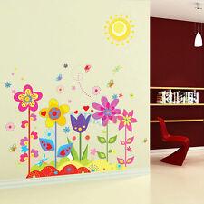 DIY Removable Vinyl Flower Butterfly Wall Stickers Art Mural Decor Kids Nursery