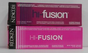 REDKEN HI FUSION Advanced  Performance Hair Color Cream ~ 2.1 fl oz / 60 ml TUBE