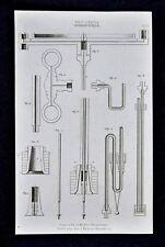 1859 Didot Freres Print - Hydrostatic - Air Pump & Pneumatic Machine Pipes