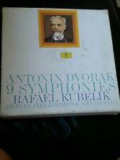 Antonin Dvorak 9 Symphonies Kubelik 2720 066-10 9 Vinyl Record 9 Lp Box Set