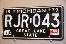 1979  / 1983 MICHIGAN License Plate ** GREAT LAKE STATE  **