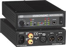 NEW Mytek Stereo 96 D/A (Stereo96 DAC) Digital to Analog Converter Auth Dealer!