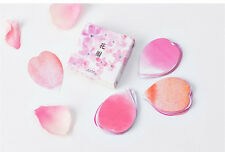 1 box 45 PCS Flower Petals diary planners Notebook Paper Scrapbooking stickers
