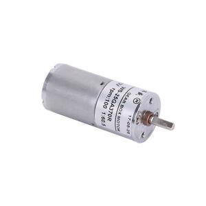 1PCS Miniature Magnetic Gear Box Motor Replacement D Type Shaft 4mm Reversible