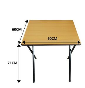 Exam Table Folding Exam Desk Class Room Computer Study Table with Laminated Top