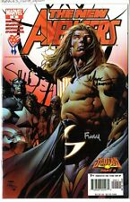 New Avengers 9 signed by Finch, McNiven and Morales Sentry Origin part 3