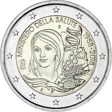 Italien 2 Euro 2018 Gründung Gesundheitsministerium Gedenkmünze Prägefrisch