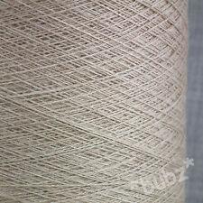 Lavable En Machine Pure Merino Wool Yarn 2/30s Avoine 500 G Cône laceweight 1 plis