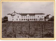 Suisse, Abbaye et son domaine viticole, à identifier  Vintage citrate  print