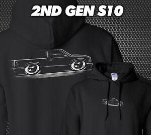 2nd Gen S10 Truck S10 Hoodie Chevy GMC Sonoma 94 95 96 97 98 99 00 01 02 03