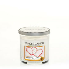 Yankee Candle Small Tumbler Snow in Love 210ml Tumbler.