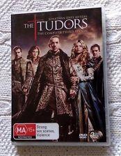 THE TUDORS - SEASON 3 (DVD- 3 DISC SET) R-4, LIKE NEW, FREE POST IN ASUTRALIA
