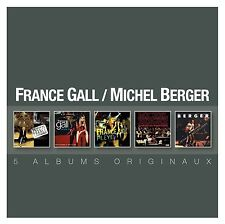 MICHEL & GALL,FRANCE BERGER - COFFRET 5CD  5 CD NEUF