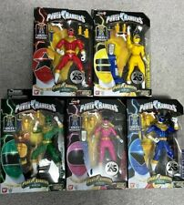 MMPR Power Rangers Zeo Legacy Collection Green Yellow Pink Red Blue Lot 5