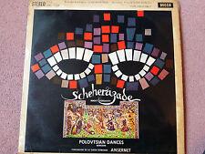 SXL 2268 Rimsky-Korsakov: Scheherazade ANSERMET WBg ED1 RARE LP